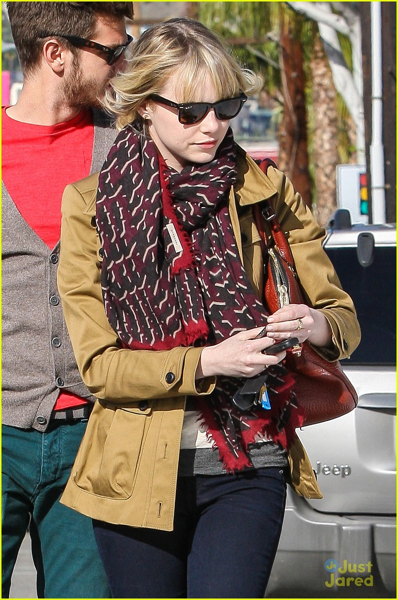 emma stone andrew garfield lunch 02