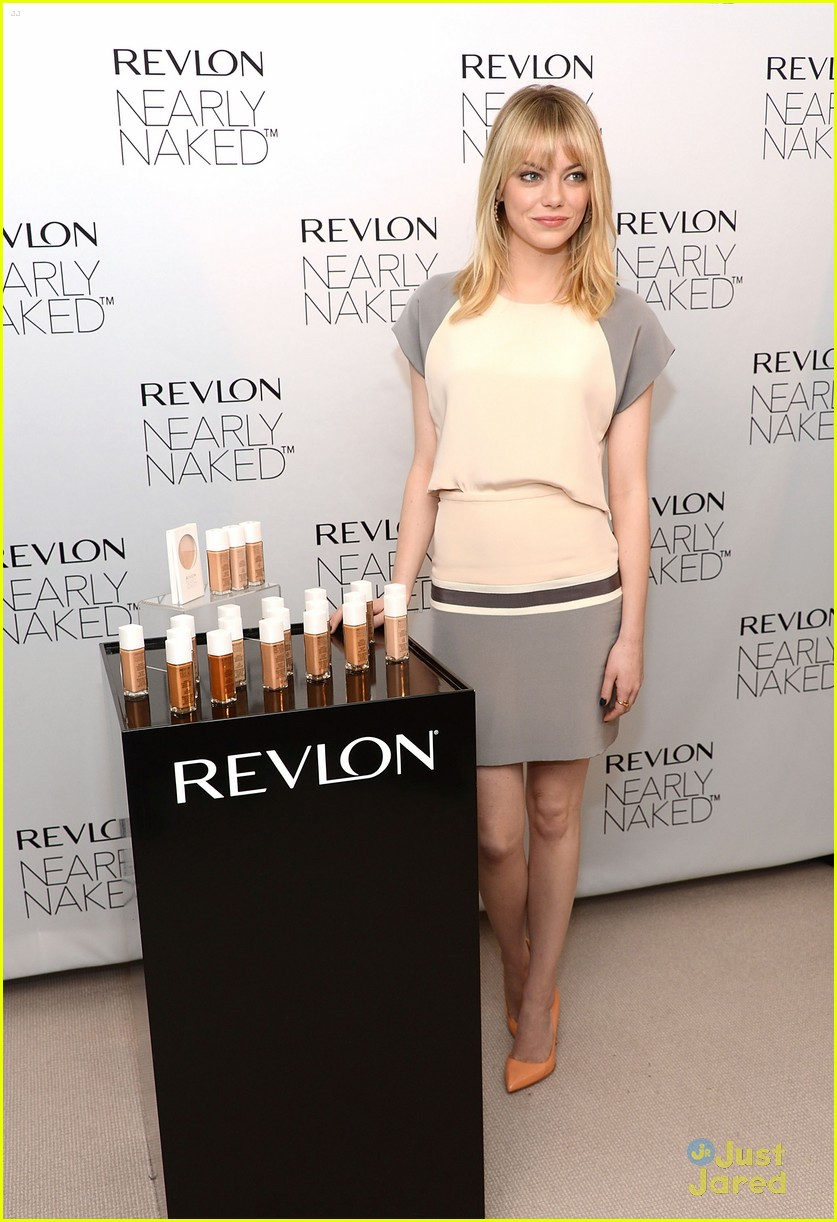 emma stone nearly naked revlon 04