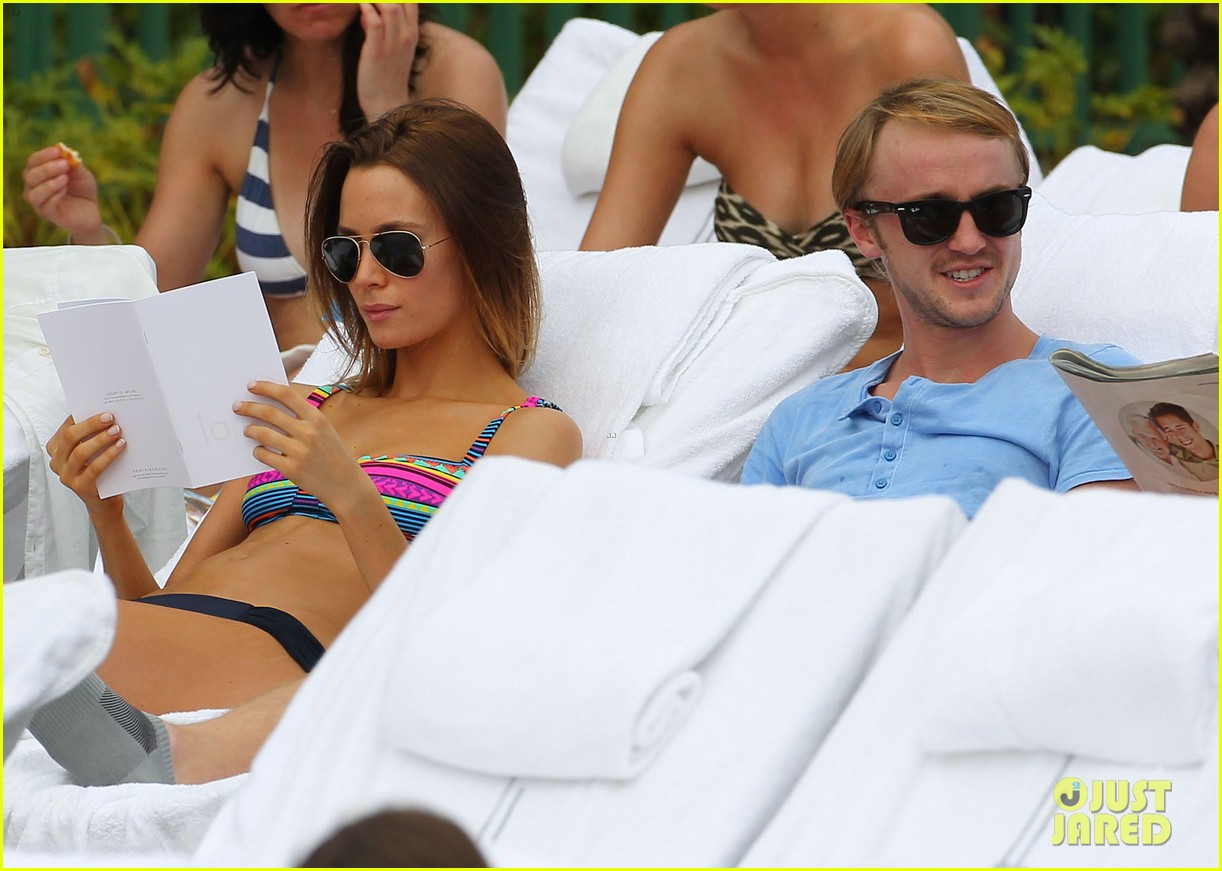 tom felton poolside jade olivia 16