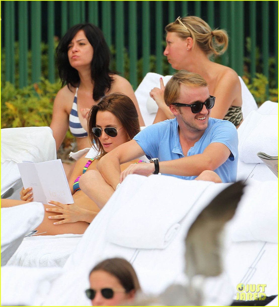 tom felton poolside jade olivia 17