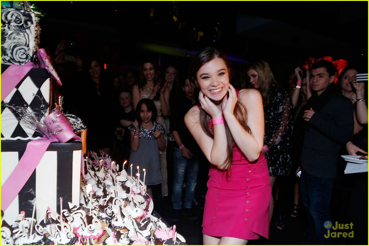 hailee steinfeld sweet 16 party 01