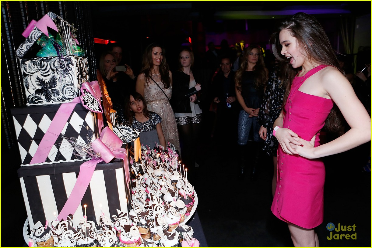 hailee steinfeld sweet 16 party 33
