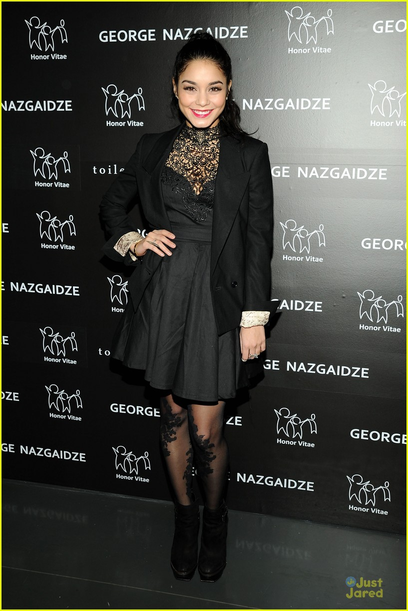 vanessa hudgens charity meets fashion holiday celebration 06