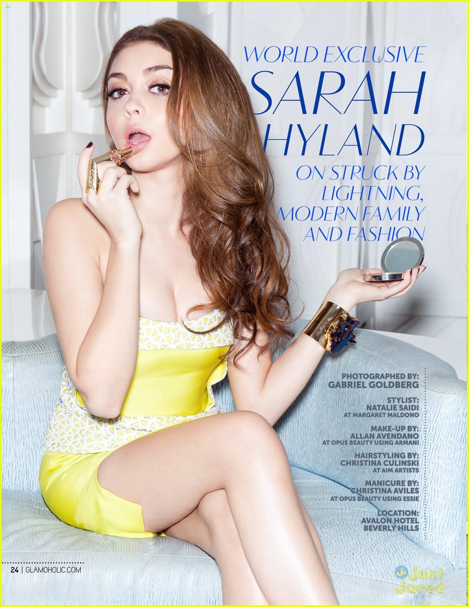 sarah hyland glamoholic december cover 04