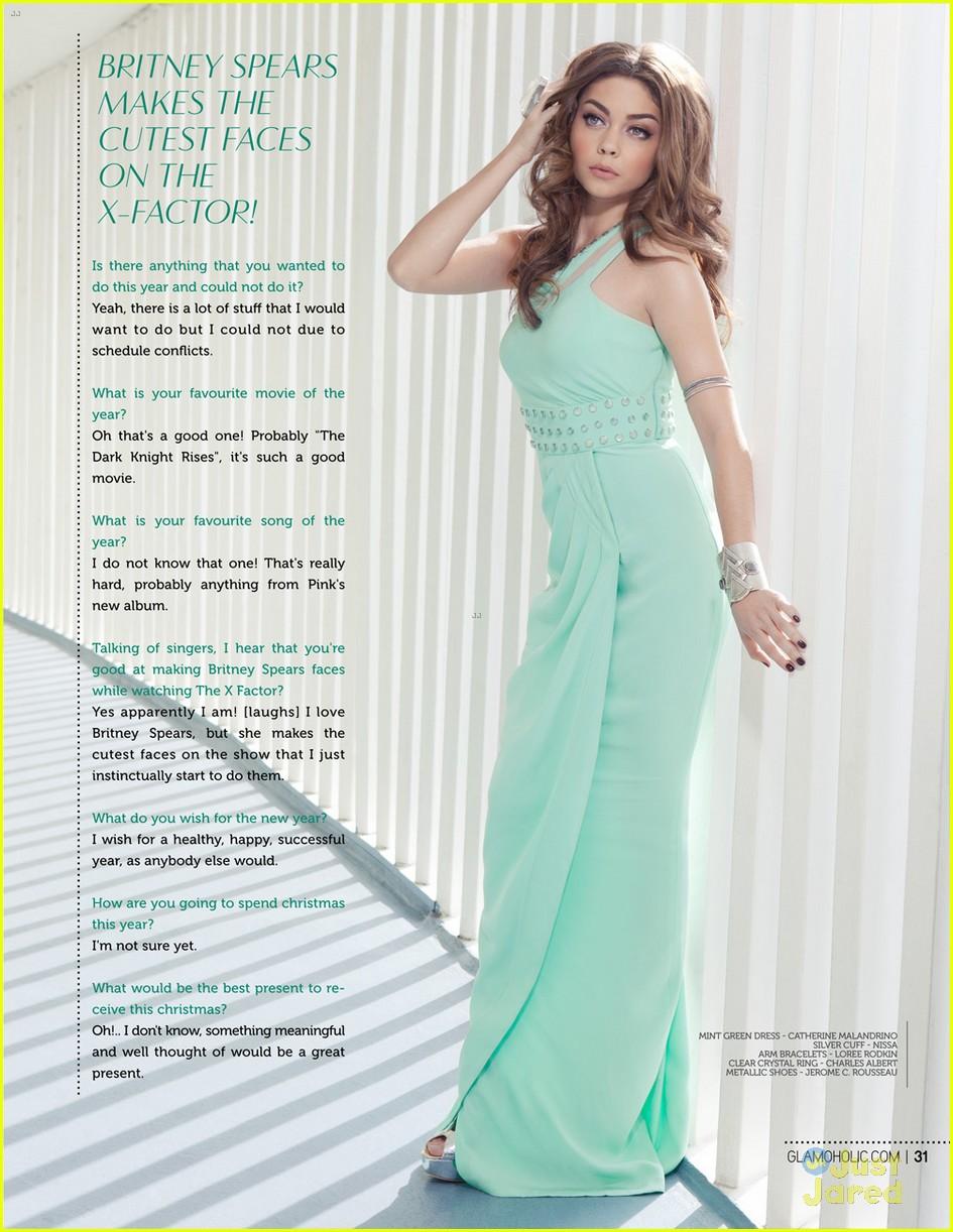 sarah hyland glamoholic december cover 07