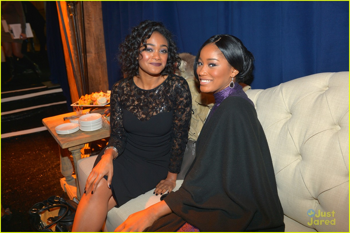 keke palmer amber riley uncf evening stars 08