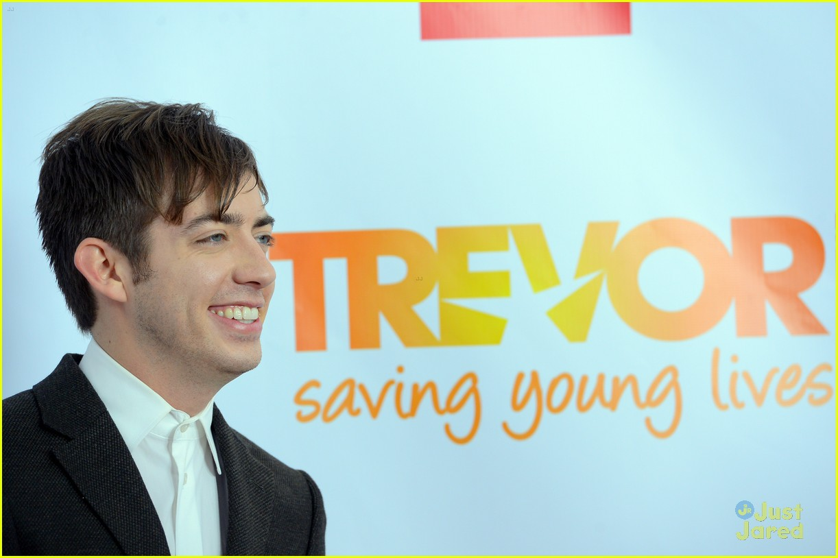 glee guys trevor live 11