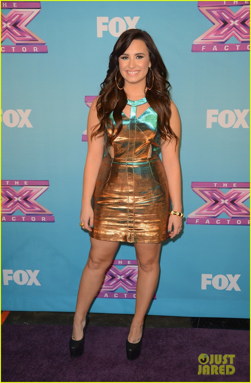 demi lovato x factor finale 05
