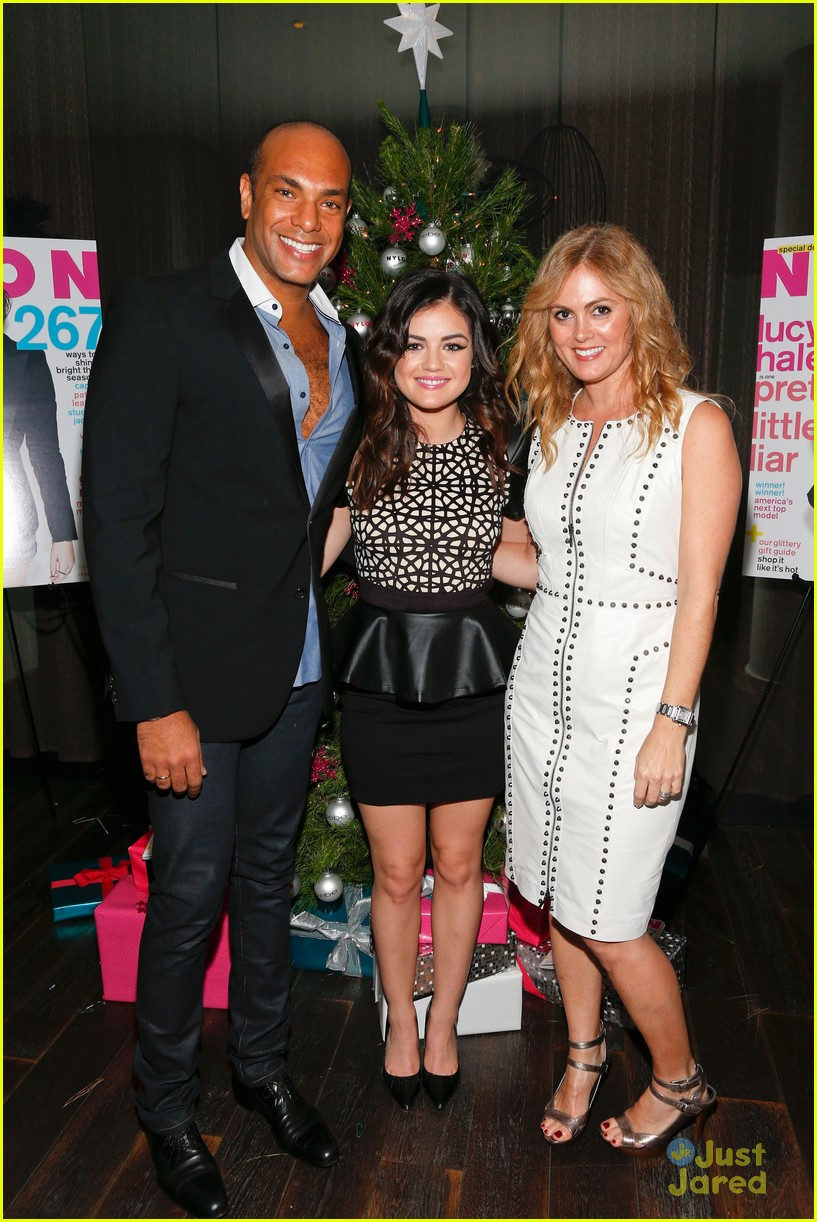 lucy hale nylon cover dinner 32