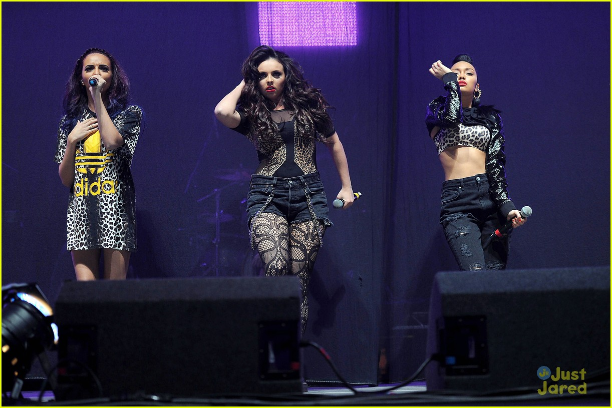 little mix jingle bell ball 07