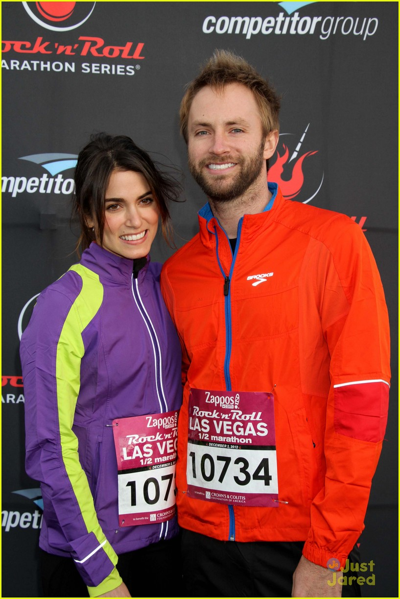 nikki reed paul mcdonald marathon vegas 01