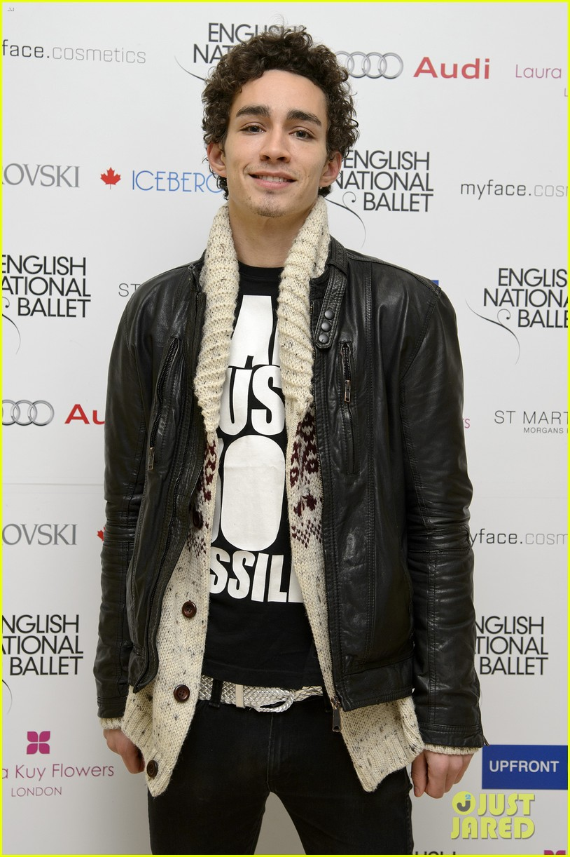 robert sheehan english national ballet christmas party 03