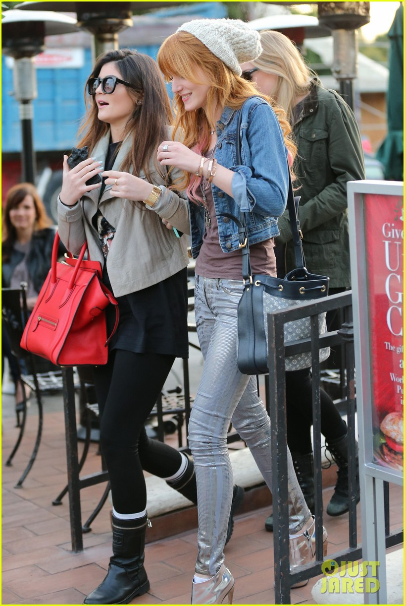 bela thorne kylie jenner lunch 19