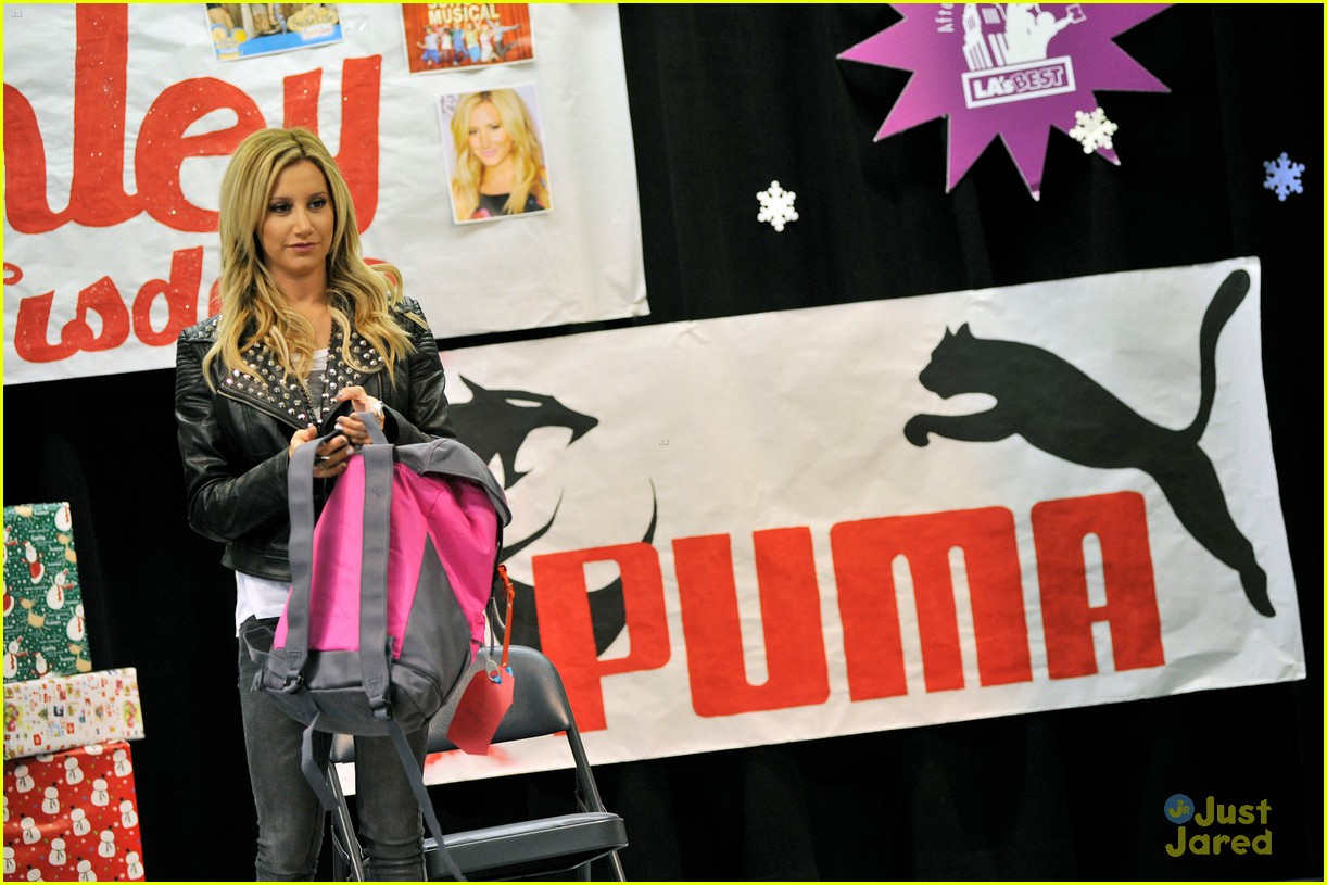 ashley tisdale puma las best 08
