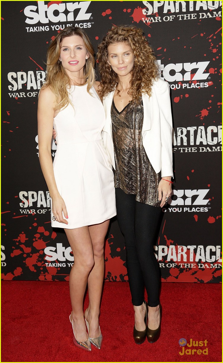 annalynne mccord spartacus premiere 12