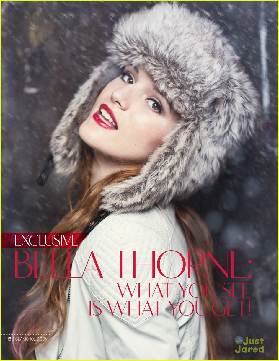 bella thorne glamoholic mag 01