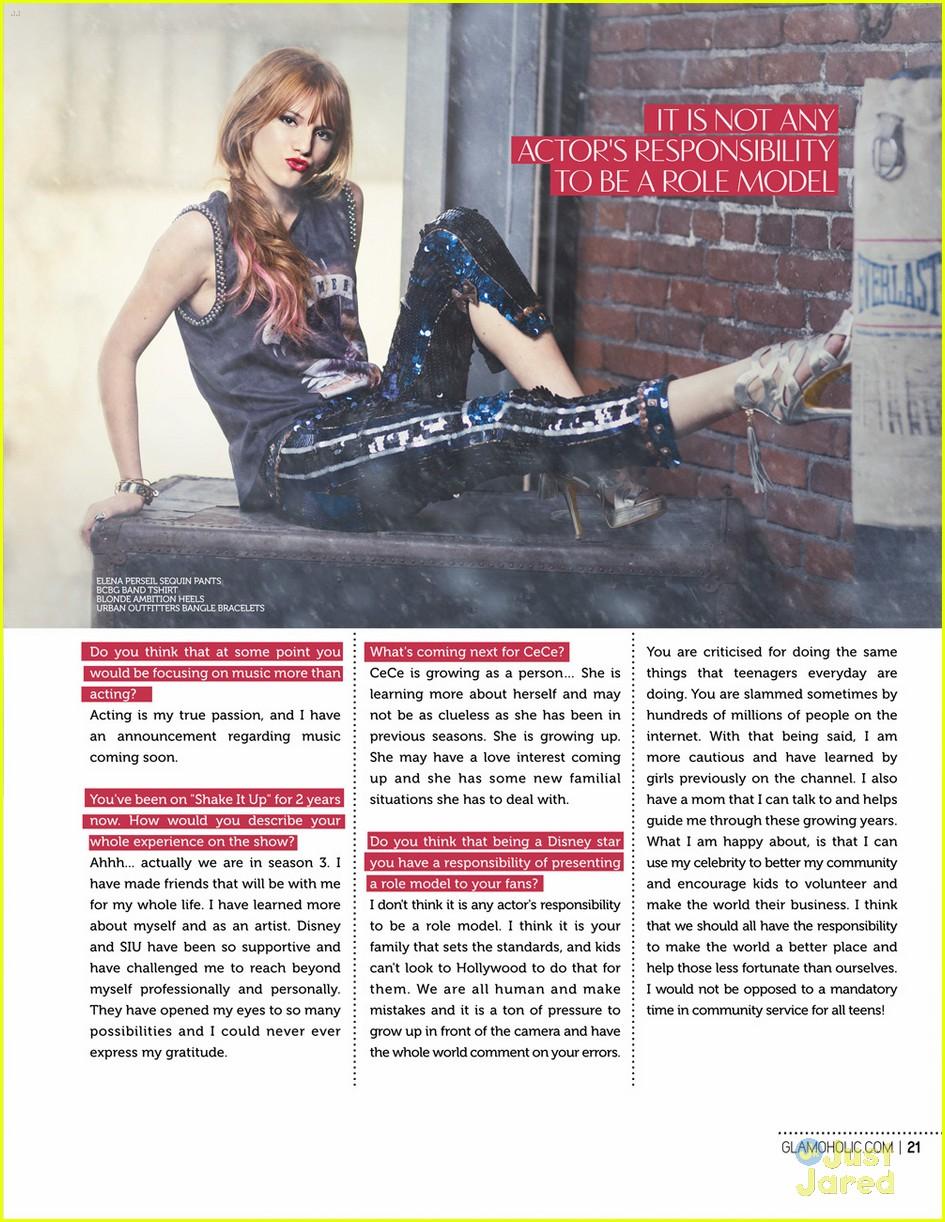 bella thorne glamoholic mag 04
