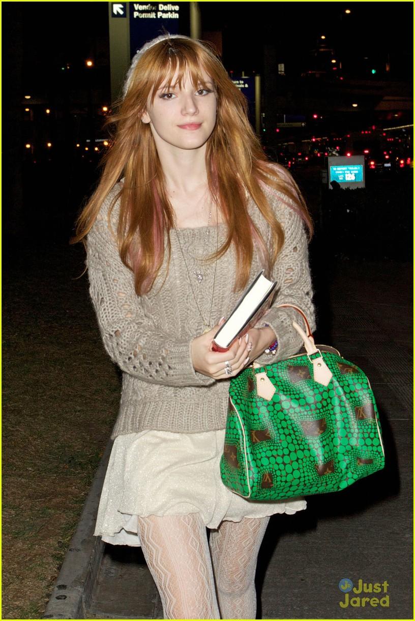 bella thorne lax green purse 01