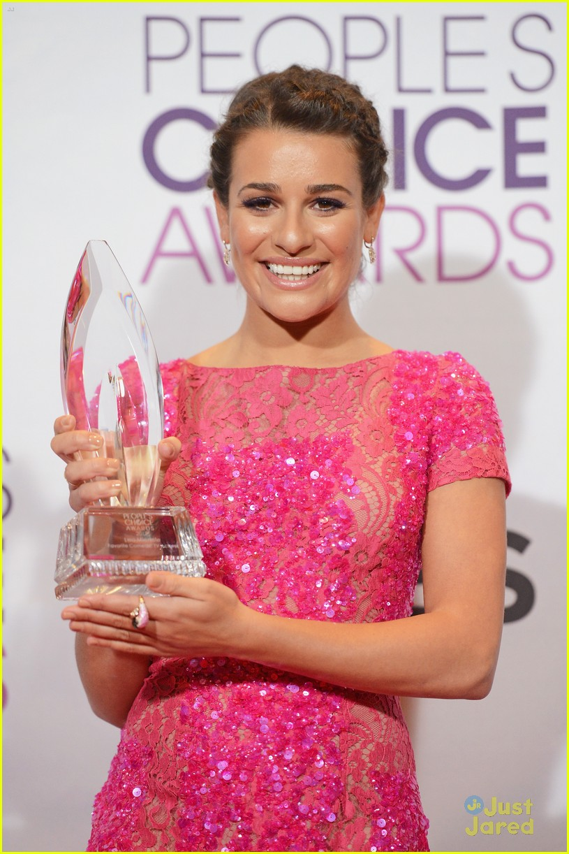 chris colfer lea michele pca 2013 winners 02