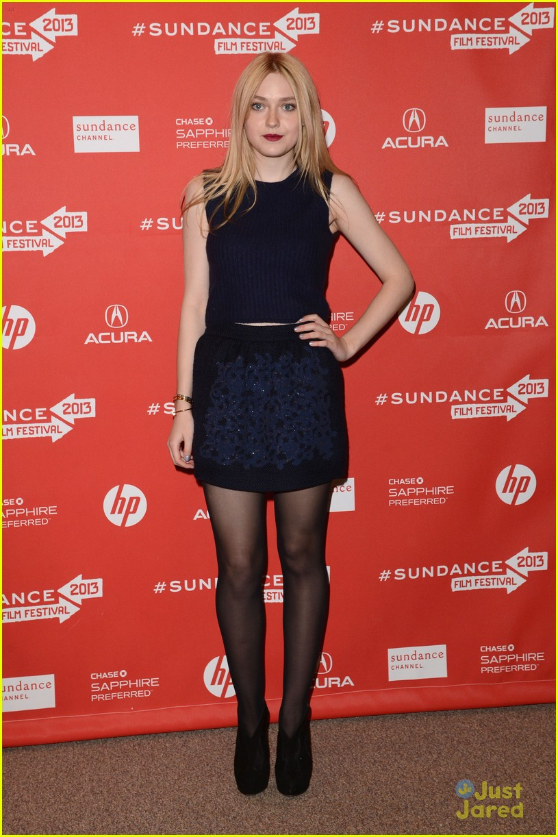 dakota fanning vgg sundance 27