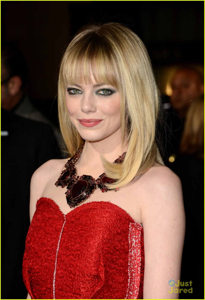 emma stone gangster premiere 08