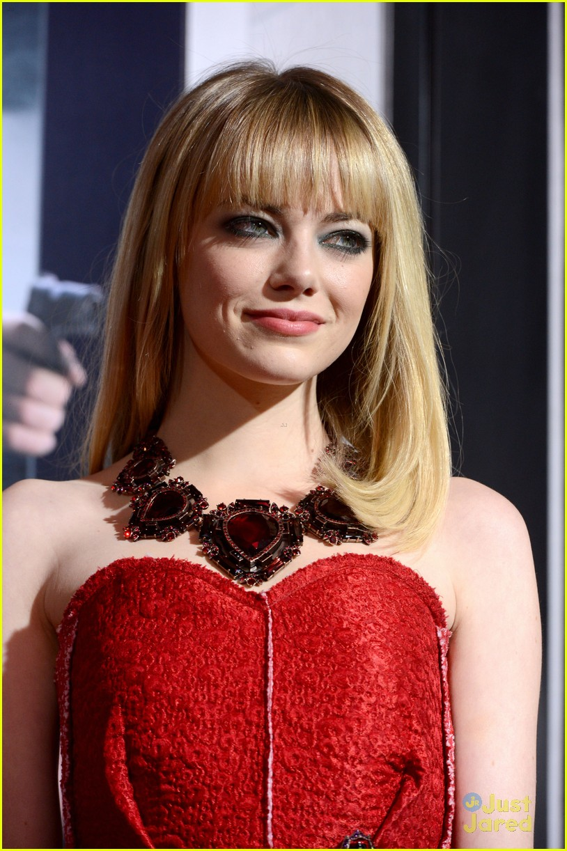 emma stone gangster premiere 20