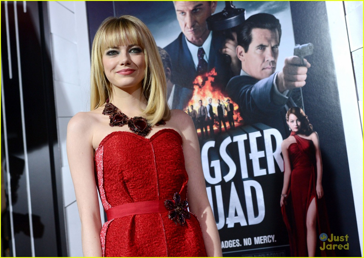 emma stone gangster premiere 24