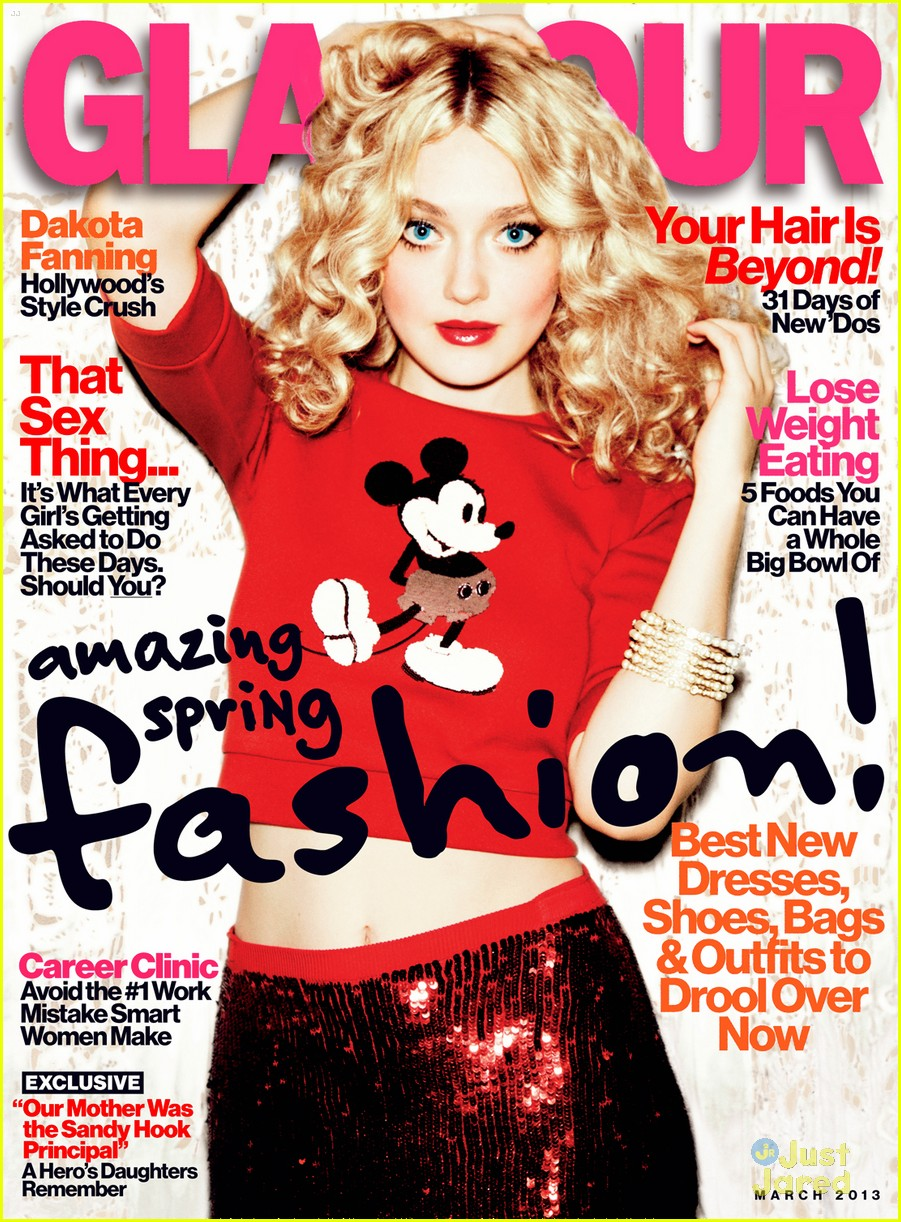 dakota fanning glamour march 2013 02