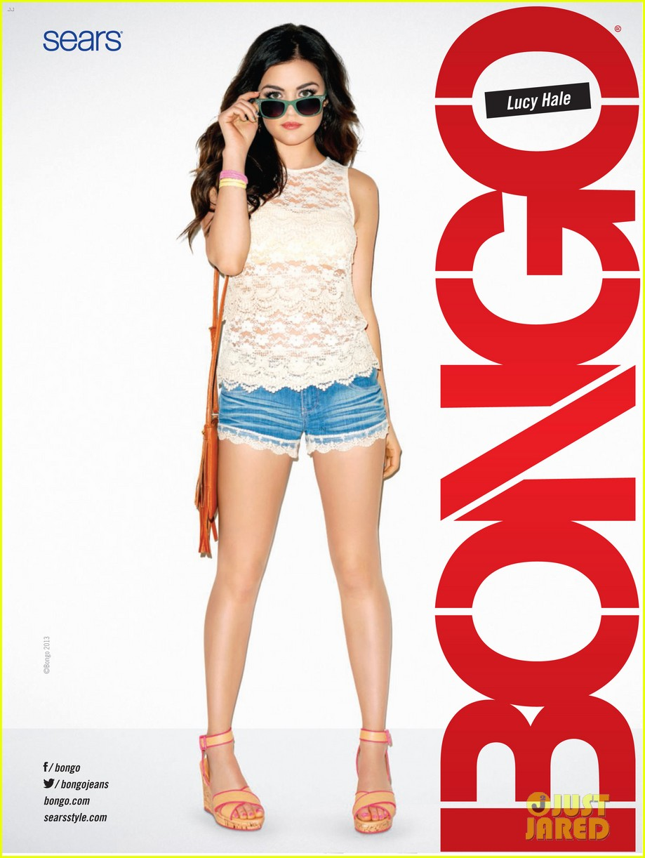 lucy hale bongo spring 2013 campaign 08