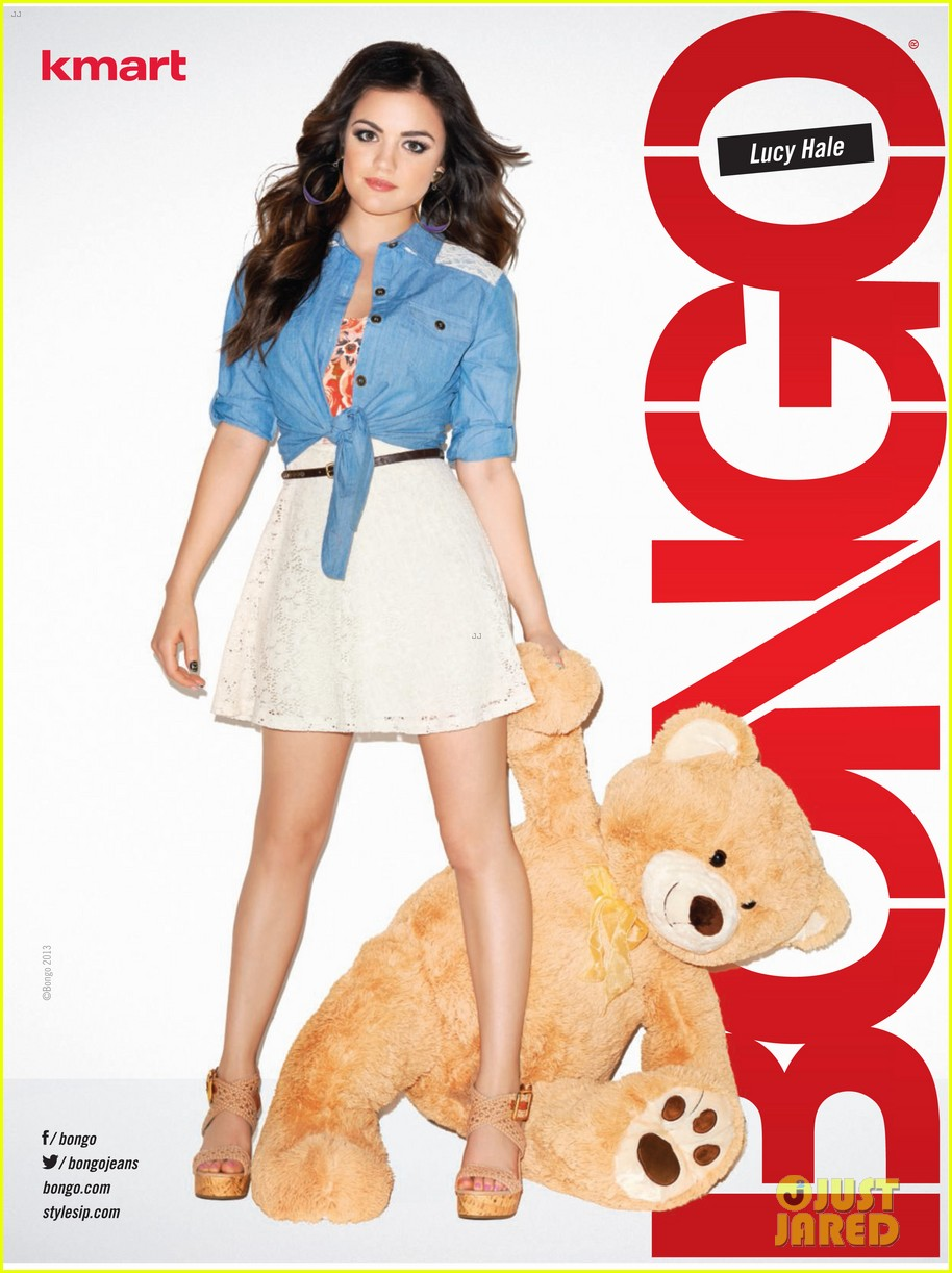 lucy hale bongo spring 2013 campaign 10