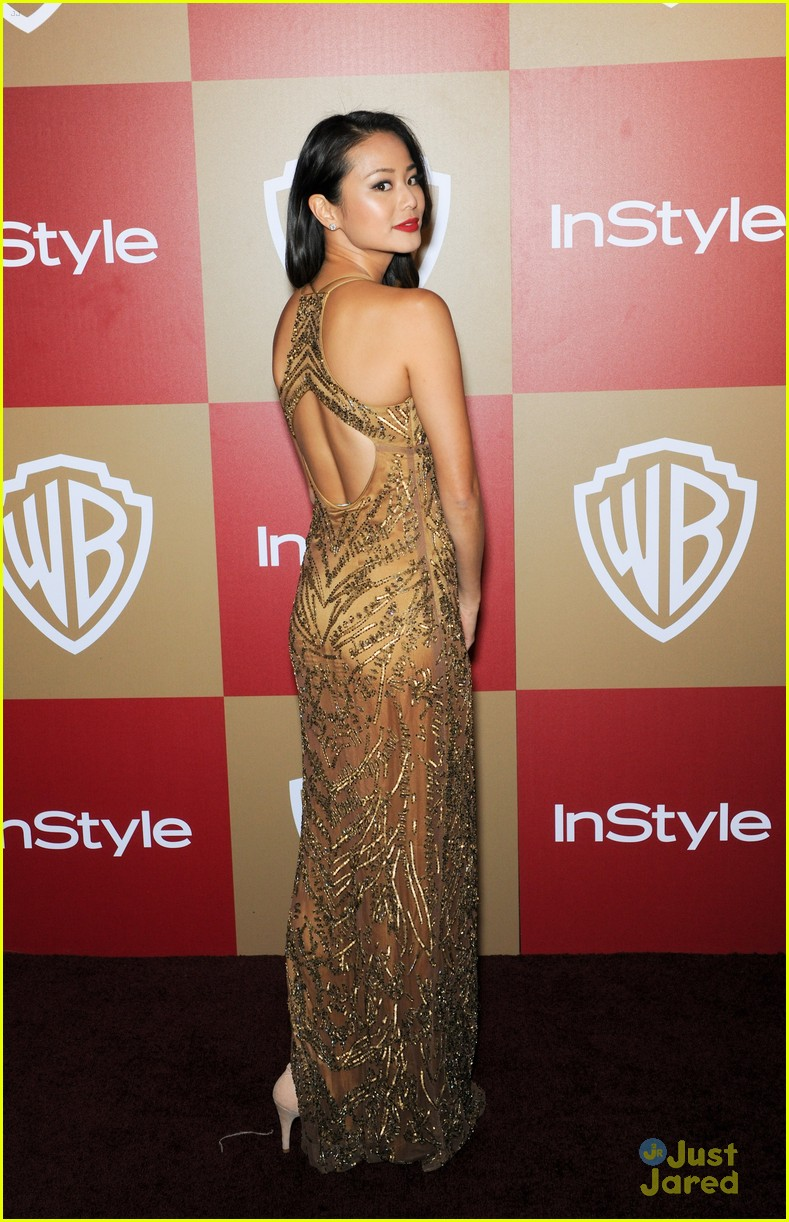jamie chung jena malone instyle gg party 09