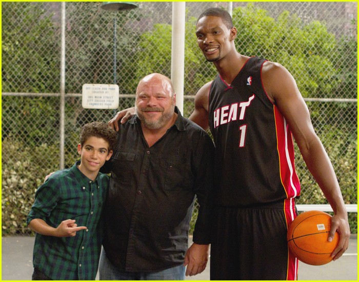 chris bosh guest star jessie 06