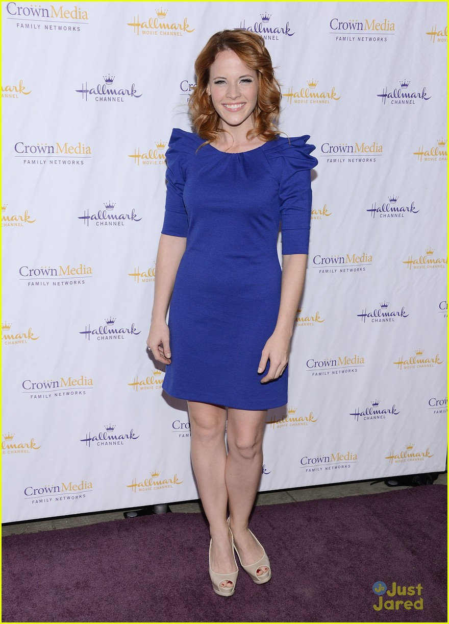 katie leclerc hallmark party 01