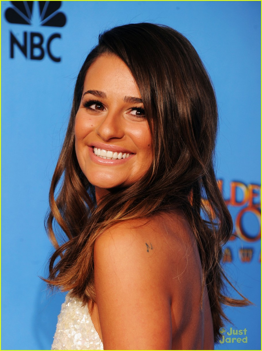 lea michele golden globes 03