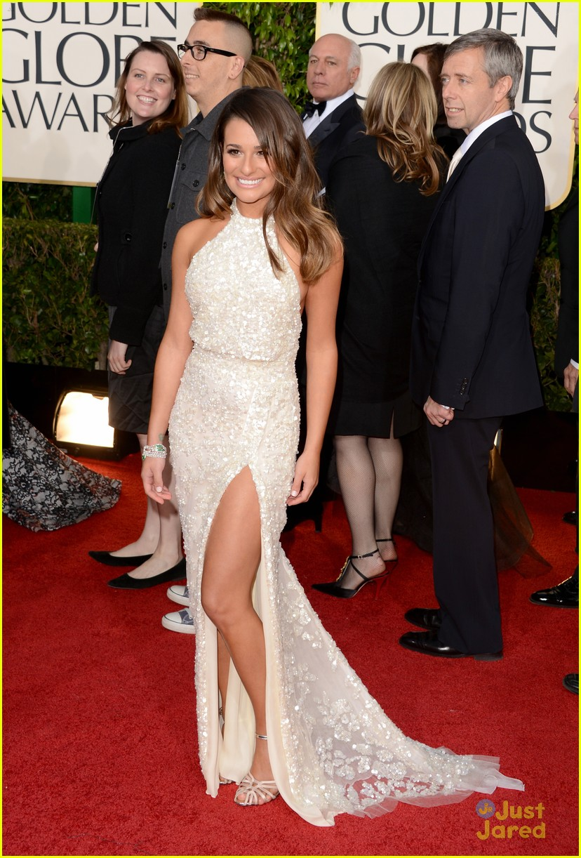 lea michele golden globes 05