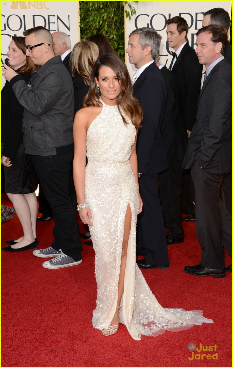 lea michele golden globes 06