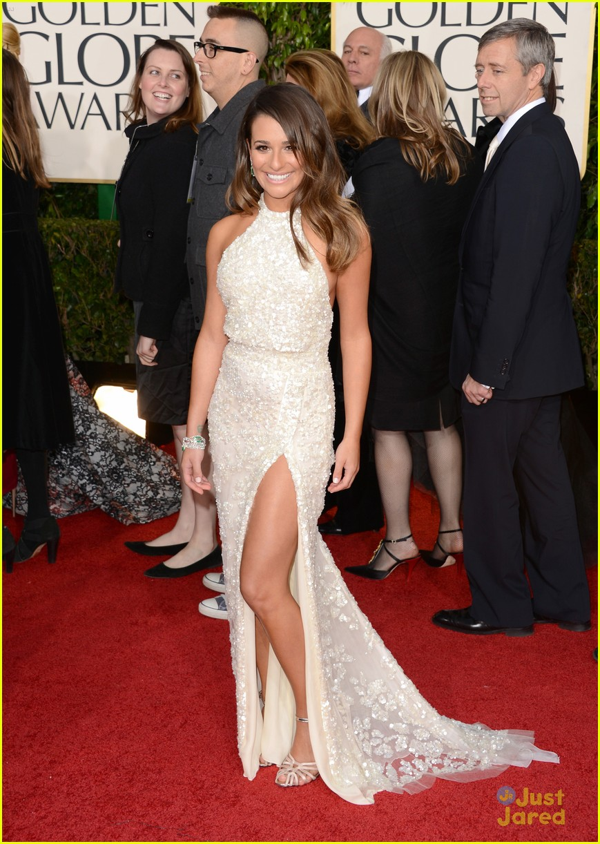 lea michele golden globes 07