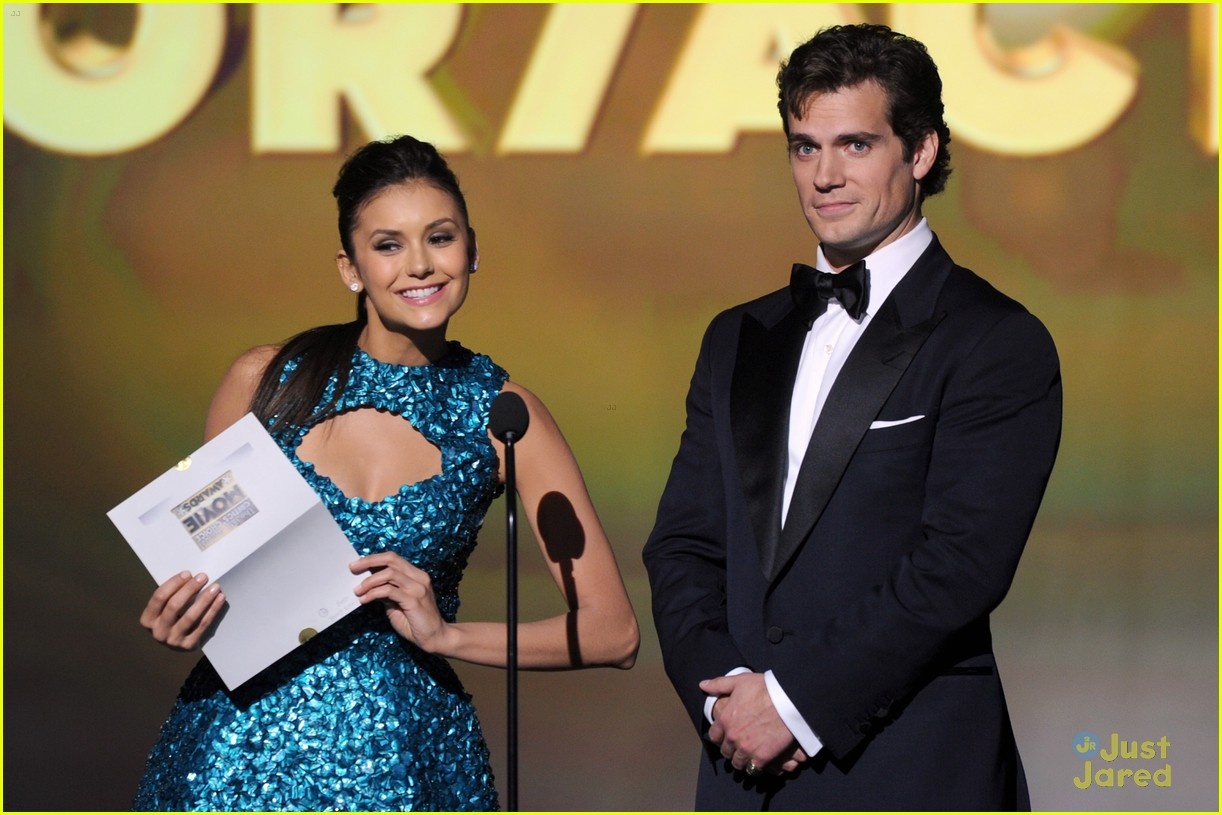 nina dobrev ian somerhalder paul cory critics choice 09