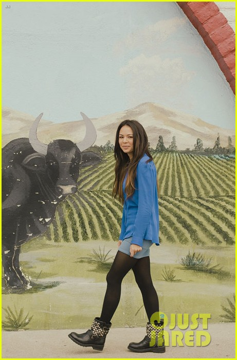 janel parrish aritizia interview 03
