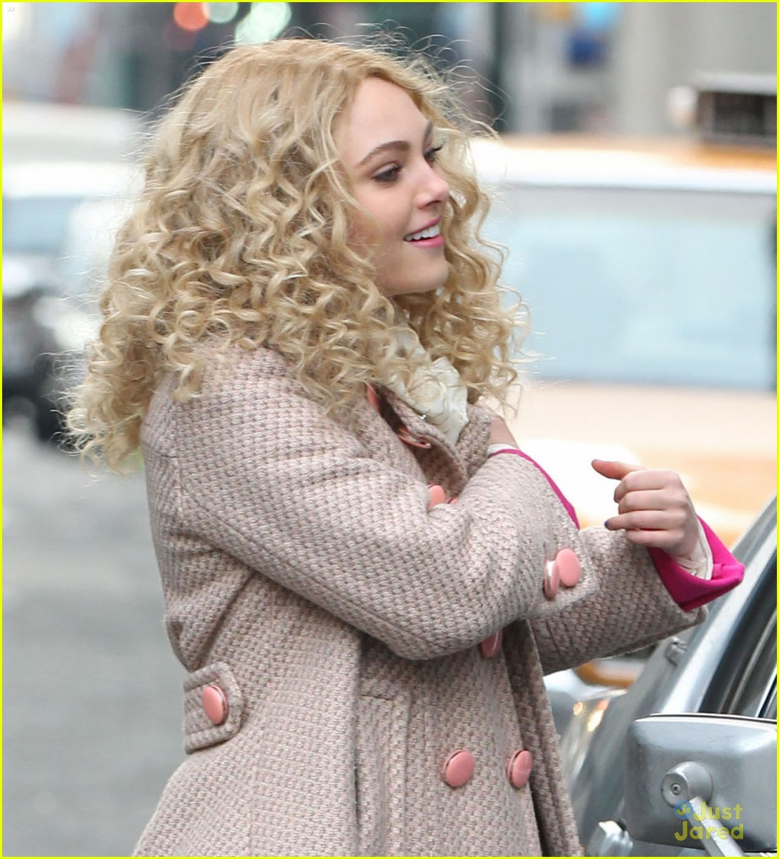 annasophia robb polka dot tights 09