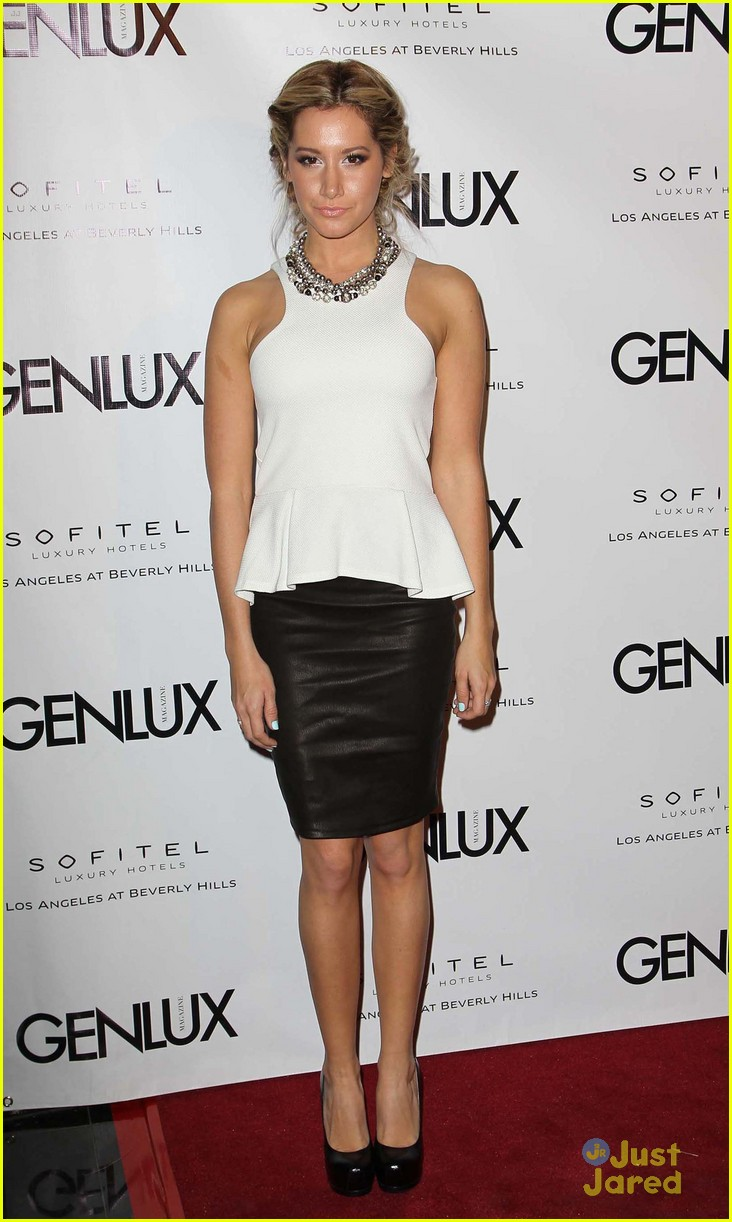 ashley tisdale genlux event 08