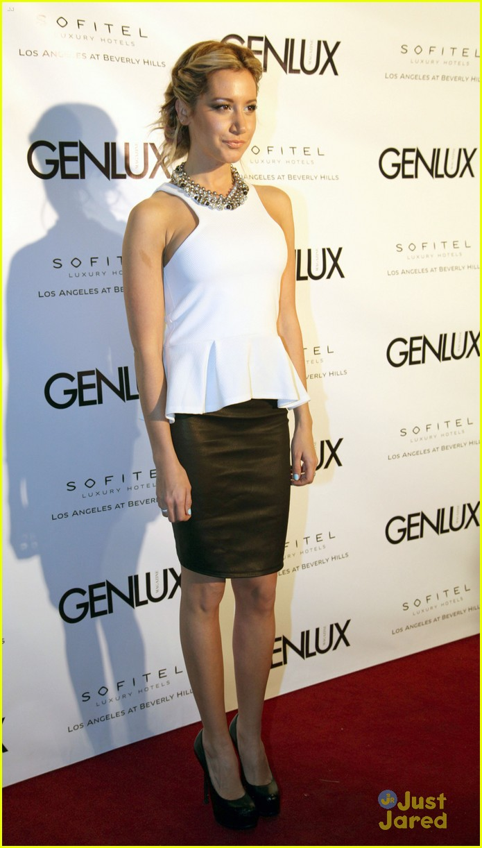 ashley tisdale genlux event 18