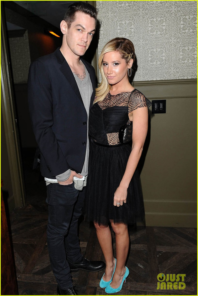 ashley tisdale christopher french nylon cover party 05