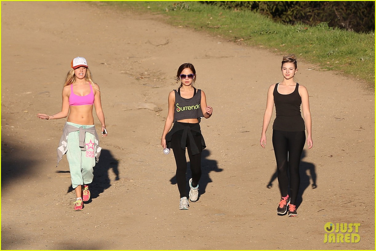 ashley tisdale allie gonino hiking buddies 11
