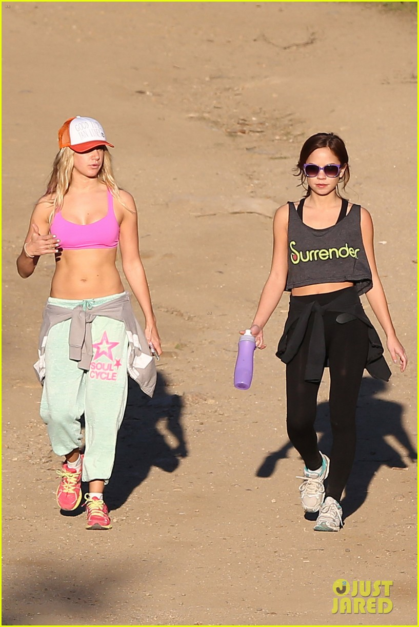 ashley tisdale allie gonino hiking buddies 12