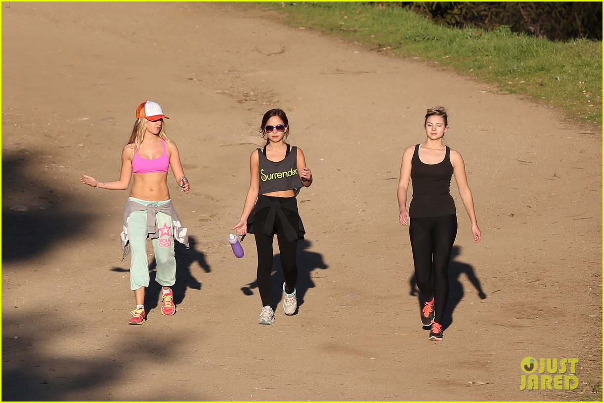 ashley tisdale allie gonino hiking buddies 21