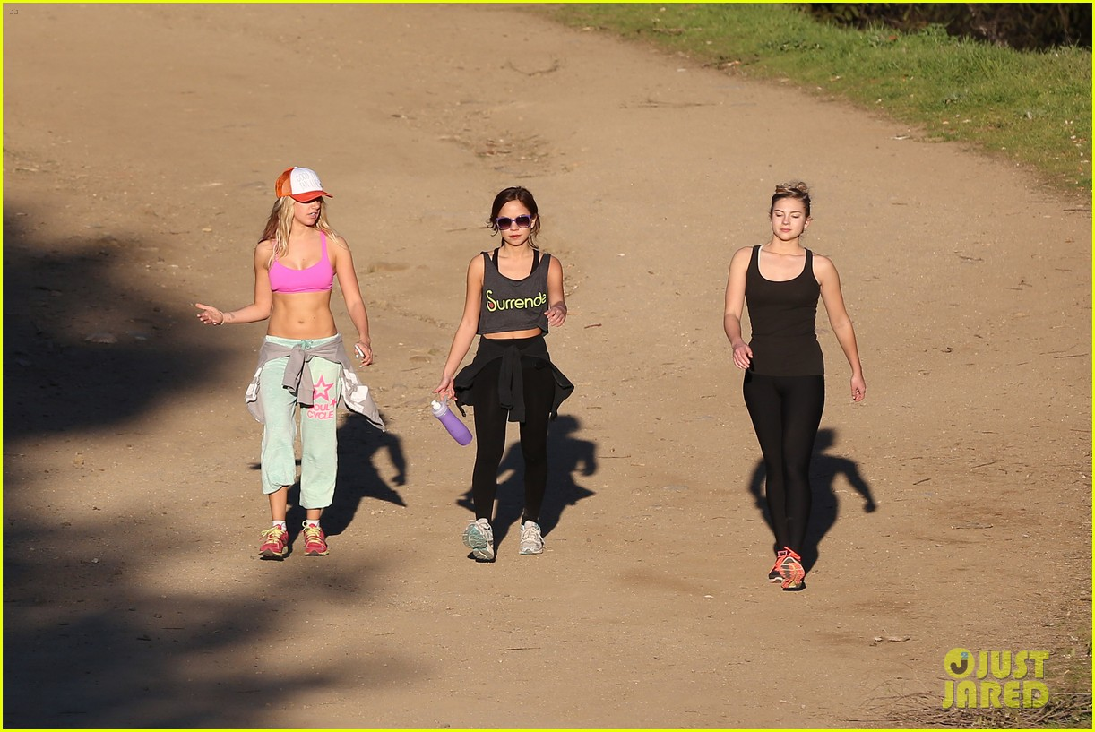 ashley tisdale allie gonino hiking buddies 23