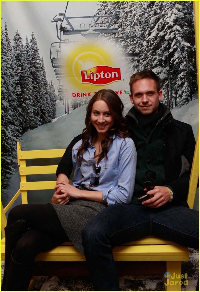 troian bellisario patrick adams sundance 09