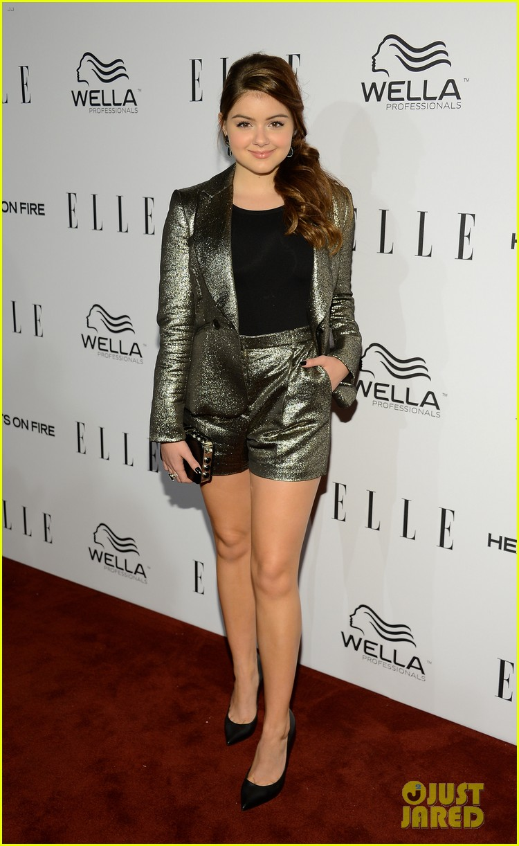 ariel winter kiernan shipka elle event 02