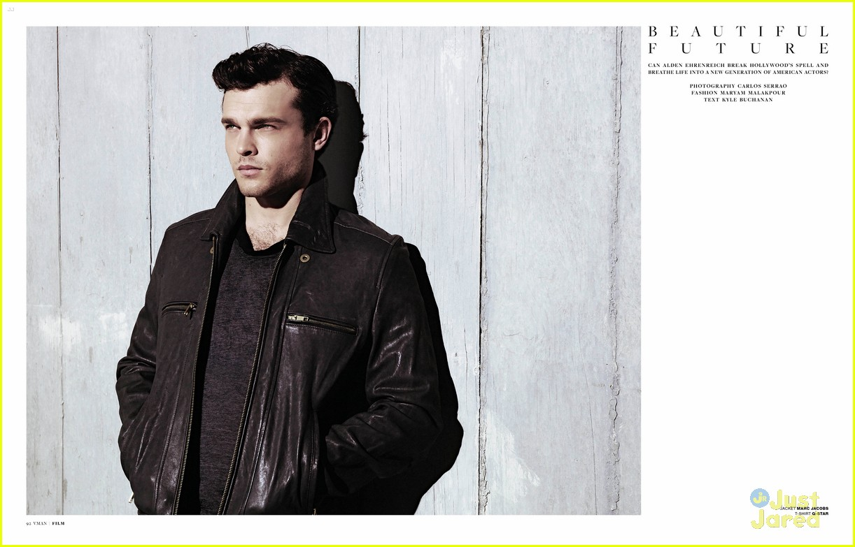 Alden Ehrenreich: 'VMan' Feature | Photo 537267 - Photo ...